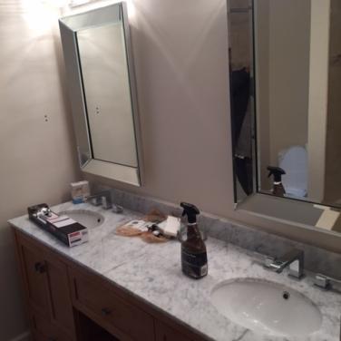 Bathroom Cabinet, Countertops,& Mirrors