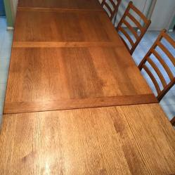 Table Set Refinish