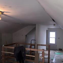 Before Drywall Finishing