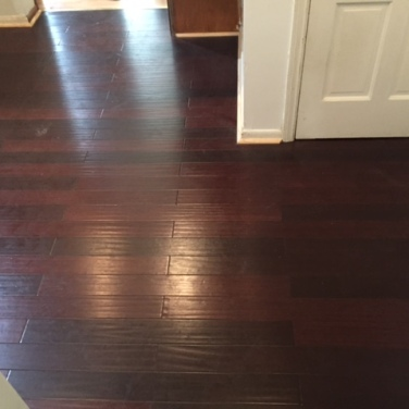 After Laminate Flooring