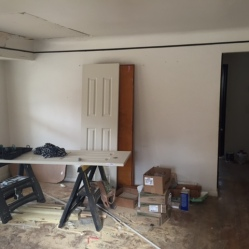 Before Drywall & Painting