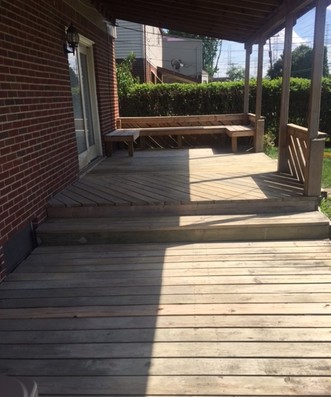 Before Stain Application