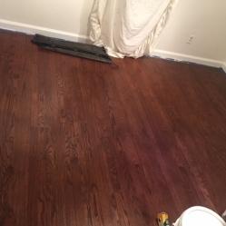 After Hardwood Refinishing