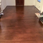 After Hardwood Refinishing