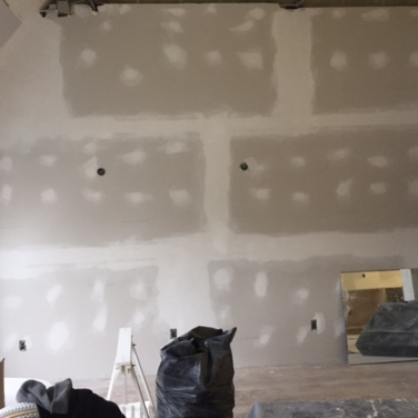 After Commercial Drywall Installation