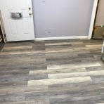 After Vinyl Flooring Installation