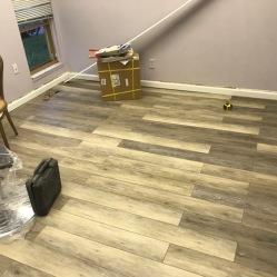 After Vinyl Flooring Installation
