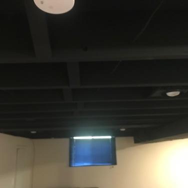 Black Matte Ceiling