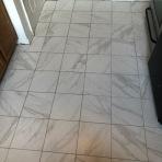 After Tile Floor Installation