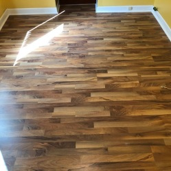 After Laminate Floor Installation