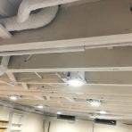 White Matte Ceiling