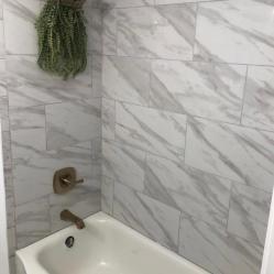 After Shower Tile Install
